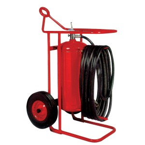 wheel fire extinguisher